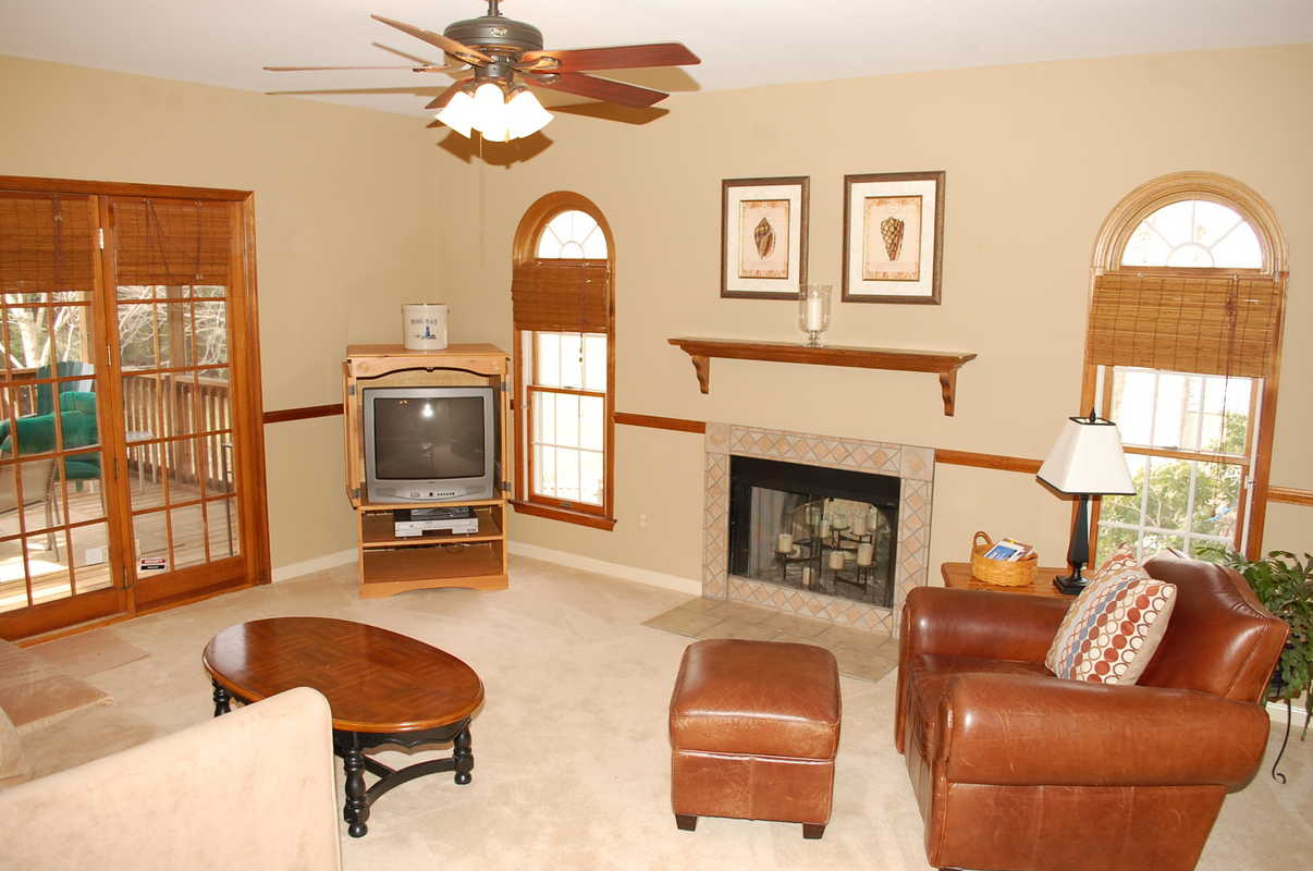 Family Room After Staging The Welcome Home Interior Design Solutions LLC