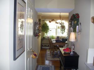 Foyer before staging