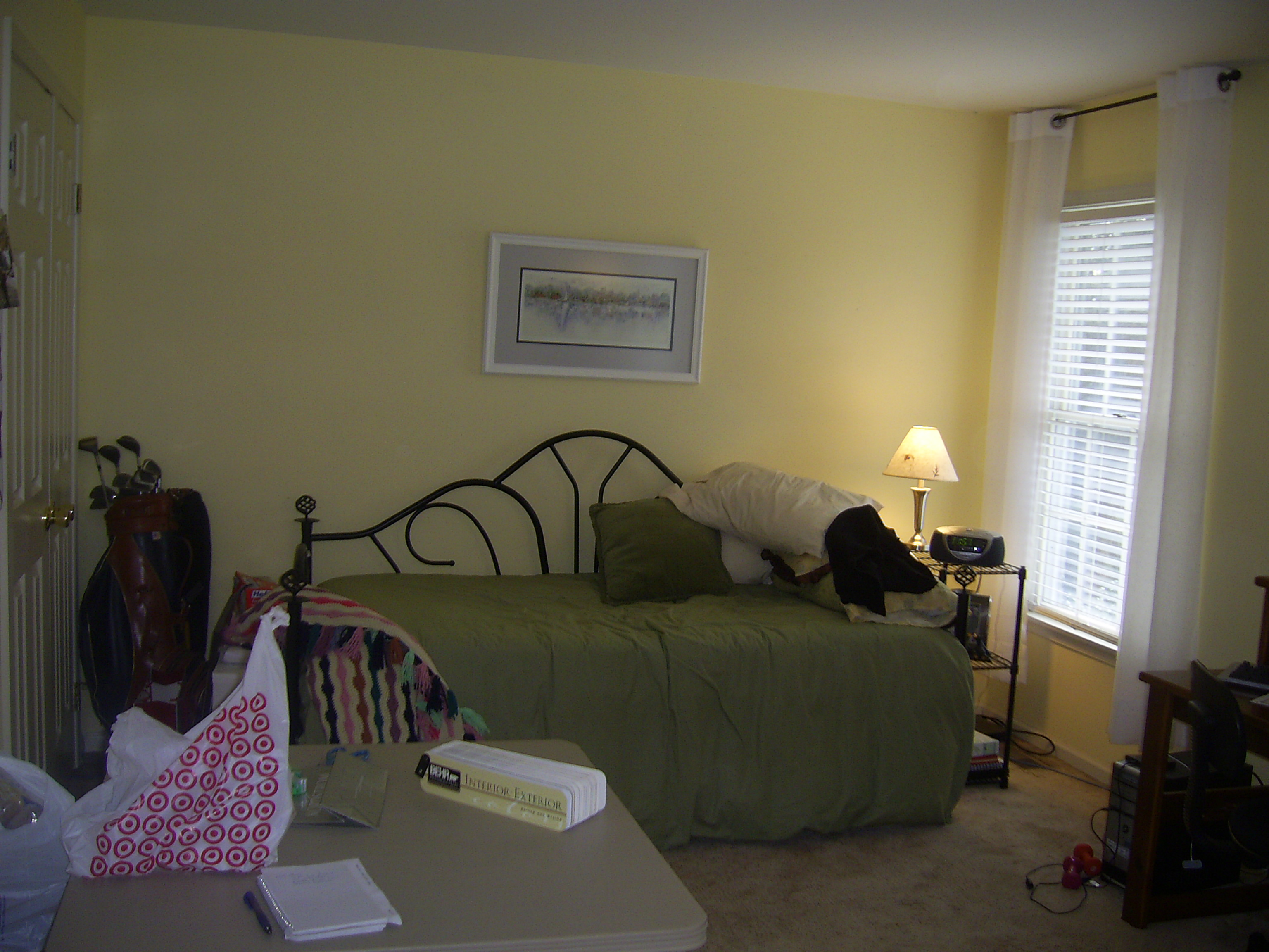 Girl 39 S Bedroom Before Staging The Welcome Home Interior Design Solutio