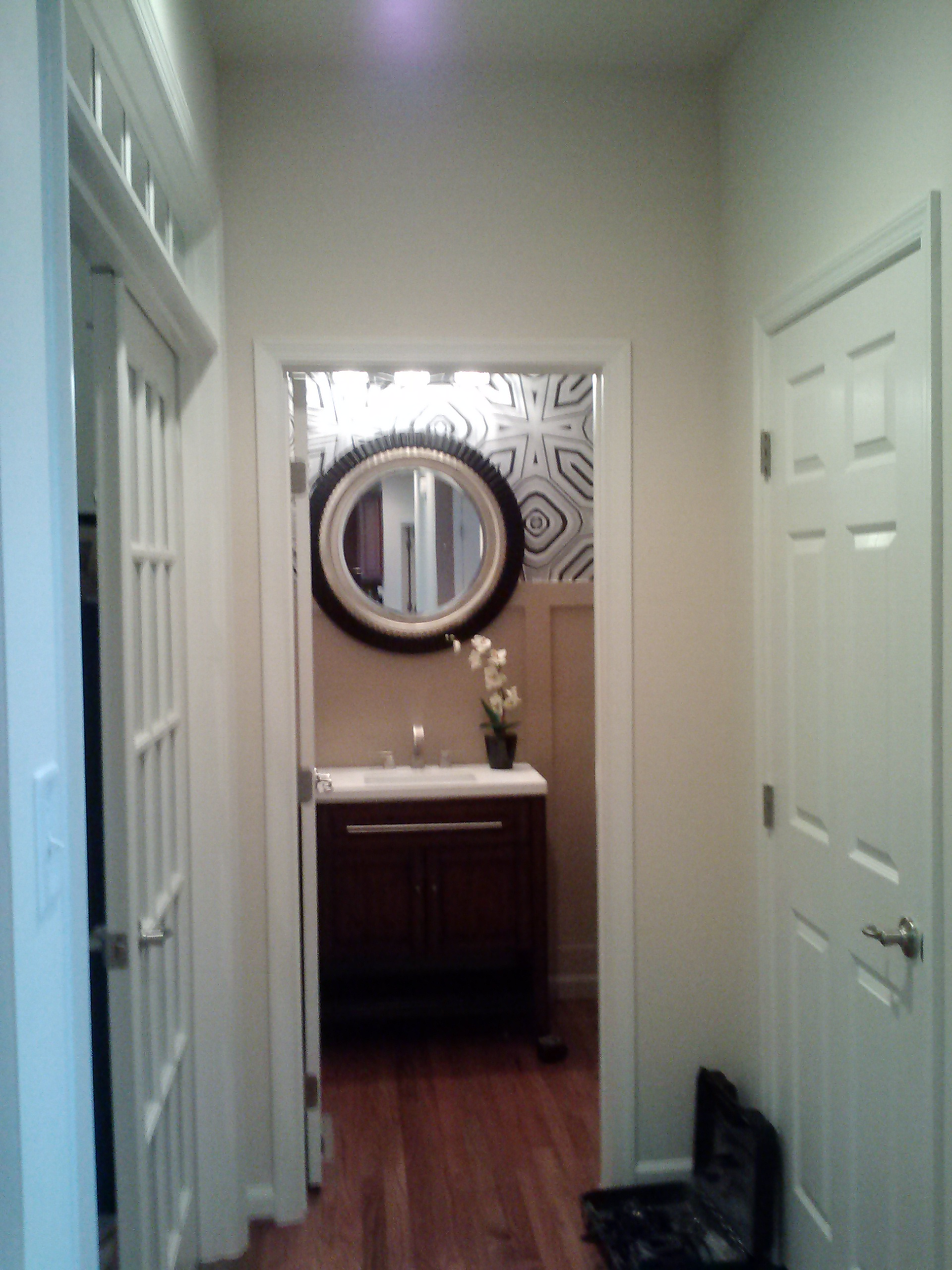 Amazing Powder Room Project The Welcome Home Interior